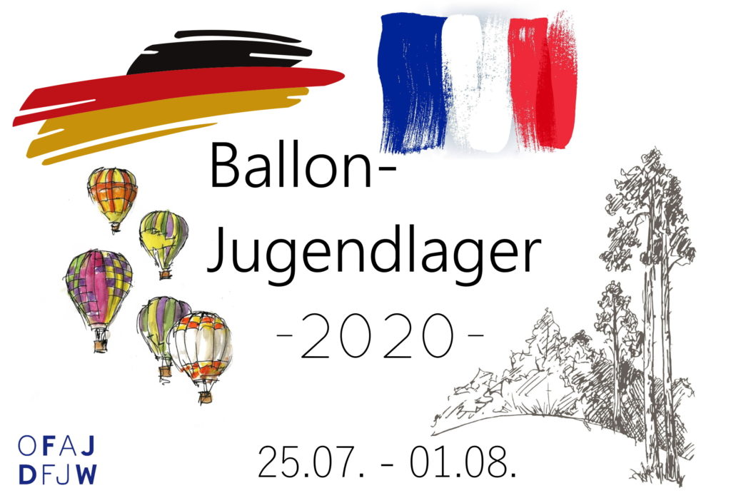 Logo für das DFJW-Ballonjugendlager 2020