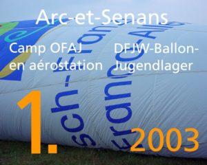 Vorschaubild für das Video über das erste DFJW-Ballonjugendlager 2003